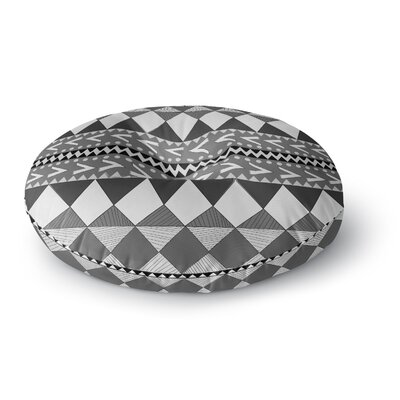 Nika Martinez Black Forest Round Floor Pillow Size: 26 x 26