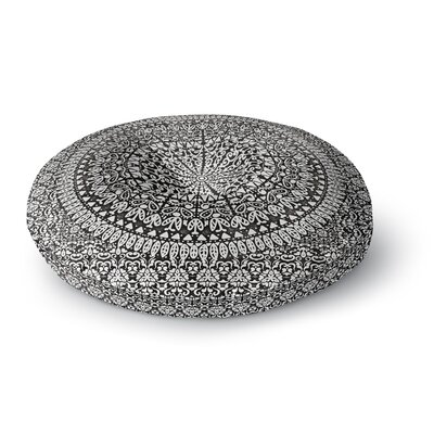 Nika Martinez Mandala Bandana Abstract Round Floor Pillow Size: 26 x 26