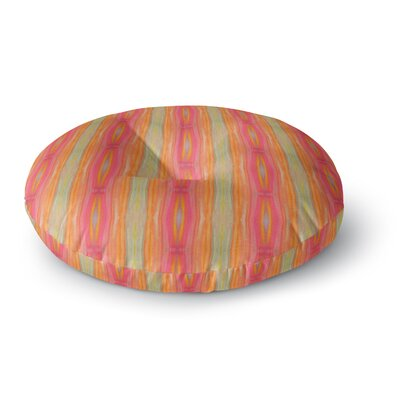 Nika Martinez Summer Tie Dye Round Floor Pillow Size: 26 x 26