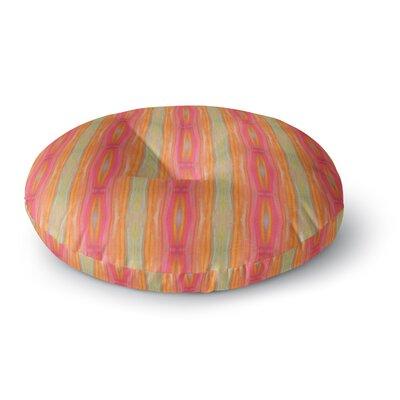 Nika Martinez Summer Tie Dye Round Floor Pillow Size: 23 x 23