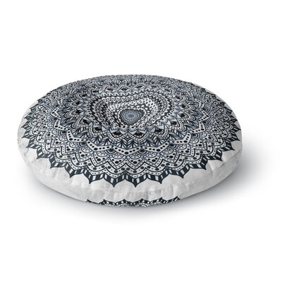Nika Martinez Boheme Dream Mandala Illustration Round Floor Pillow Size: 26 x 26
