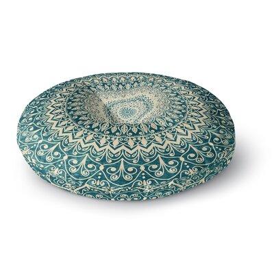 Nika Martinez Nature Boho Mandala Illustration Round Floor Pillow Size: 23 x 23