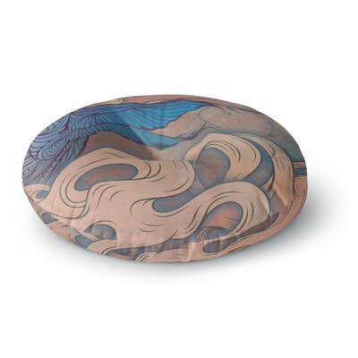Mat Miller The Aerialist Round Floor Pillow Size: 26 x 26