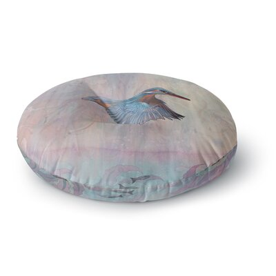 Mat Miller Terror from Above Round Floor Pillow Size: 26 x 26