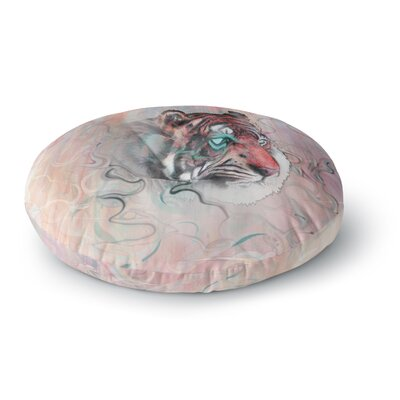 Mat Miller Illusive by Nature Round Floor Pillow Size: 26 x 26