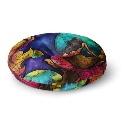 Mandie Manzano Believe Round Floor Pillow Size: 23 x 23
