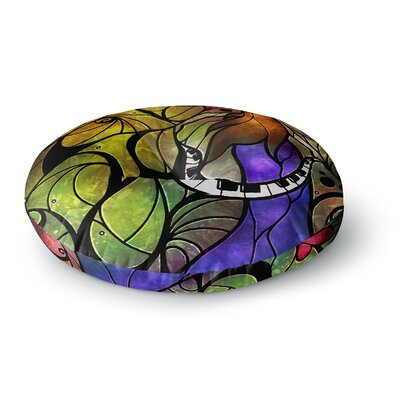 Mandie Manzano So This is Love Round Floor Pillow Size: 26 x 26