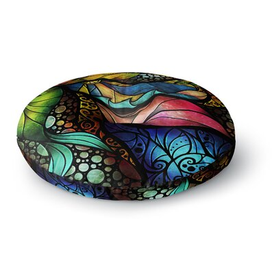 Mandie Manzano Sleep and Awake Round Floor Pillow Size: 23 x 23