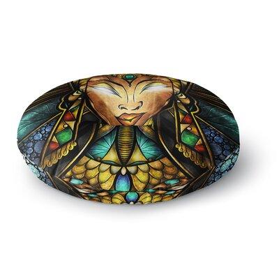 Mandie Manzano Nefertari Round Floor Pillow Size: 23 x 23