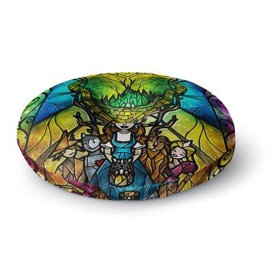 Mandie Manzano Wizard of Oz Fantasy Round Floor Pillow Size: 23 x 23