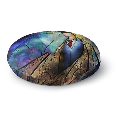 Mandie Manzano The 10th Space Round Floor Pillow Size: 26 x 26