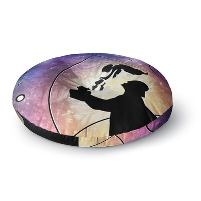 Mandie Manzano Fathers Day Star Wars Round Floor Pillow Size: 23 x 23
