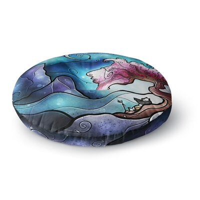 Mandie Manzano You Must Believe Round Floor Pillow Size: 26 x 26