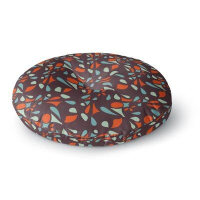 Miranda Mol Retro Tile Round Floor Pillow Size: 26 x 26