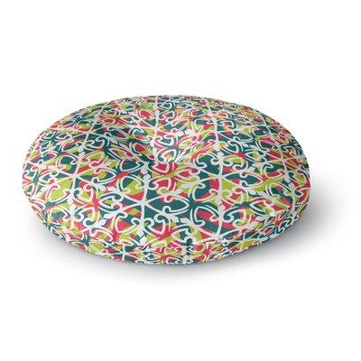 Miranda Mol Cool Yule Round Floor Pillow Size: 26 x 26