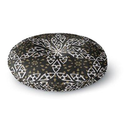 Miranda Mol Ethnical Snowflakes Round Floor Pillow Size: 23 x 23