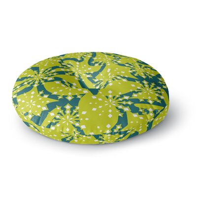Miranda Mol Festive Splash Round Floor Pillow Size: 26 x 26