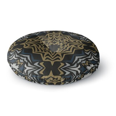 Miranda Mol Golden Fractals Round Floor Pillow Size: 26 x 26