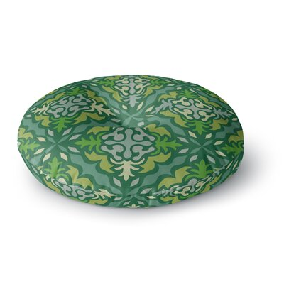 Miranda Mol Yulenique Round Floor Pillow Size: 26 x 26