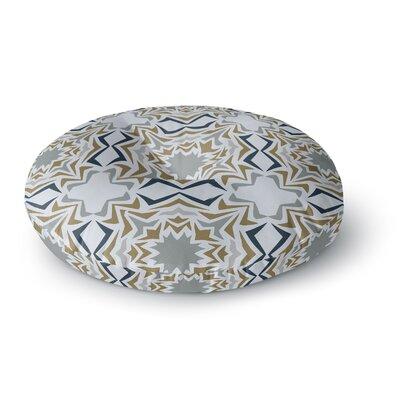 Miranda Mol Ice Stars Round Floor Pillow Size: 26 x 26