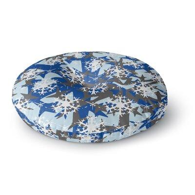 Miranda Mol Ice Topography Round Floor Pillow Size: 26 x 26