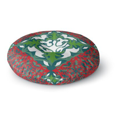 Miranda Mol Lace Flakes Round Floor Pillow Size: 26 x 26