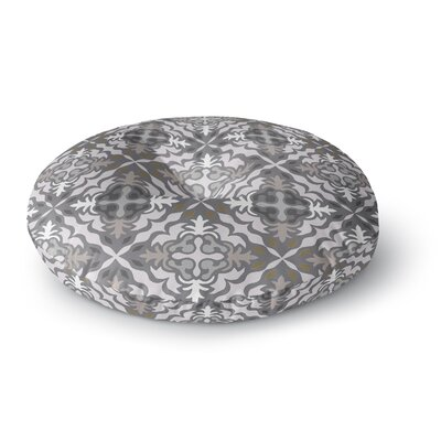 Miranda Mol Let it Snow Round Floor Pillow Size: 26 x 26