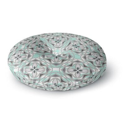 Miranda Mol Winter Pool Round Floor Pillow Size: 26 x 26