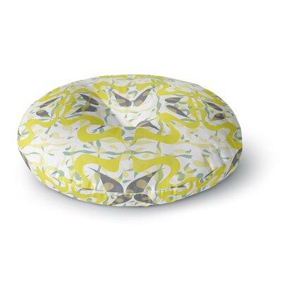 Miranda Mol Azulejos Round Floor Pillow Size: 23 x 23