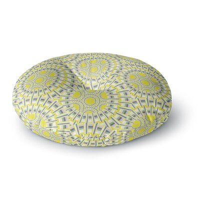 Miranda Mol Sprouting Cells  Round Floor Pillow Size: 23 x 23