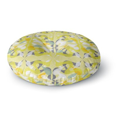 Miranda Mol Spring Flourish Round Floor Pillow Size: 26 x 26