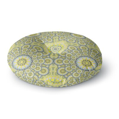 Miranda Mol Multifaceted Flowers Round Floor Pillow Size: 26 x 26