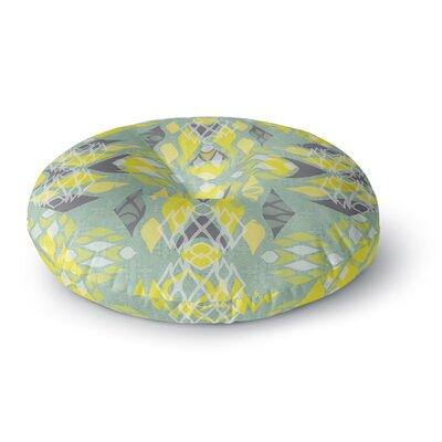 Miranda Mol Joyful Teal Round Floor Pillow Size: 23 x 23