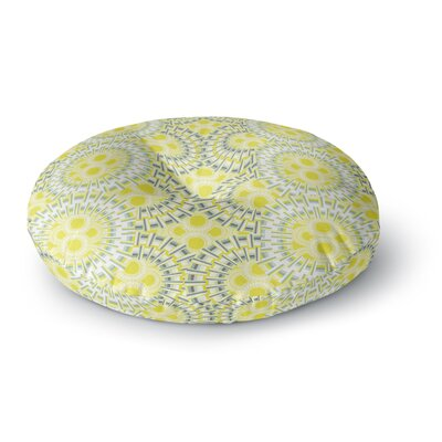 Miranda Mol Blossoming Buds Round Floor Pillow Size: 26 x 26