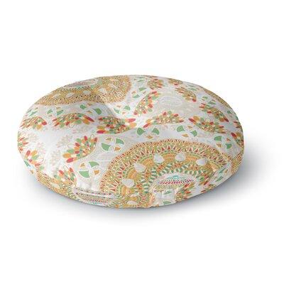 Miranda Mol Bohemian Bright Geometric Round Floor Pillow Size: 26 x 26