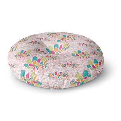 Miranda Mol Blown Away Round Floor Pillow Size: 23 x 23