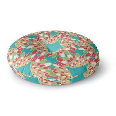 Miranda Mol Wings Round Floor Pillow Size: 23 x 23