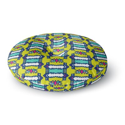 Miranda Mol Party Vibes Round Floor Pillow Size: 23 x 23