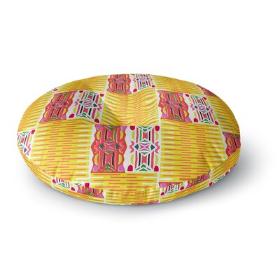 Miranda Mol Cool Summer Round Floor Pillow Size: 26 x 26