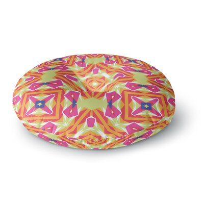 Miranda Mol Summer Vibes Round Floor Pillow Size: 23 x 23