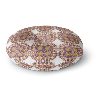 Miranda Mol Ornamental Tiles Round Floor Pillow Size: 23 x 23
