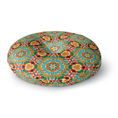 Miranda Mol Hexagon Tiles Round Floor Pillow Size: 23 x 23