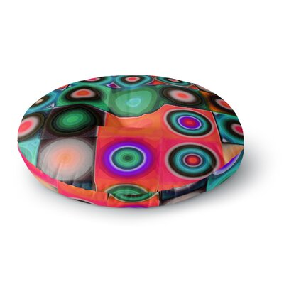 Mimulux Patricia No Desert Spring Digital Round Floor Pillow Size: 26 x 26