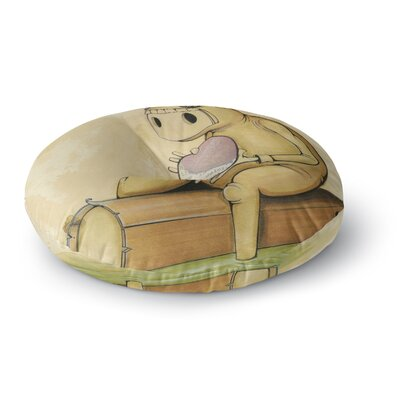 Matthew Reid In All the While Round Floor Pillow Size: 23 x 23