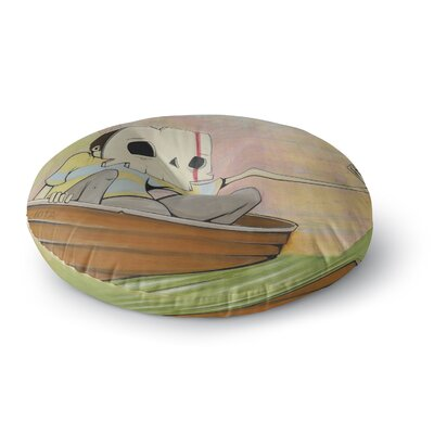 Matthew Reid Drifting Round Floor Pillow Size: 23 x 23