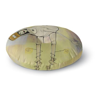 Matthew Reid Good Day Round Floor Pillow Size: 26 x 26