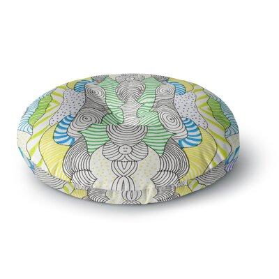Monika Strigel Wormland Round Floor Pillow Size: 26 x 26
