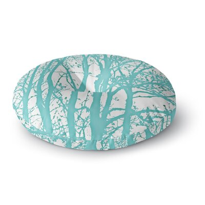 Monika Strigel Mint Trees Round Floor Pillow Size: 23 x 23