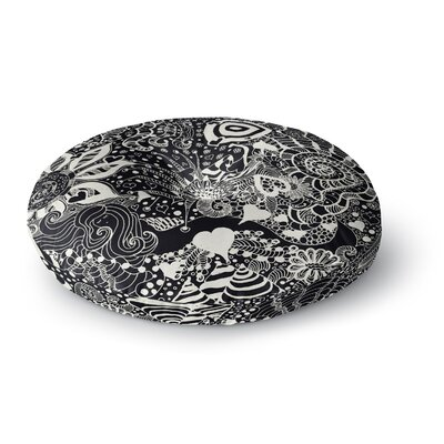 Monika Strigel Neptunes Garden Round Floor Pillow Size: 23 x 23