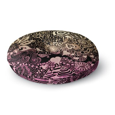 Monika Strigel Neptunes Garden II Round Floor Pillow Size: 26 x 26